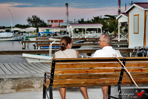 San Pedro Boasts New Sunset Board Walk and Water Taxi Terminal