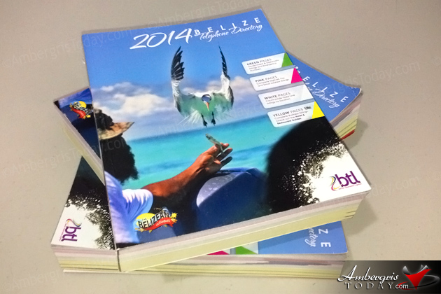 BTL's 2014 Directory Cover Highlights Belize's Adventure