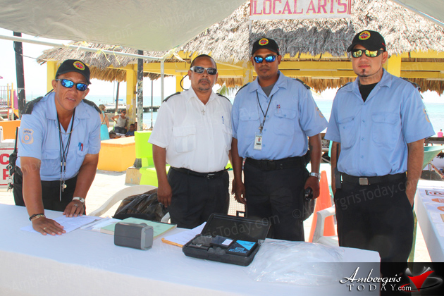 Breathalyzer Presented to Island as Part of National Anti-Drinking/Driving Campaign