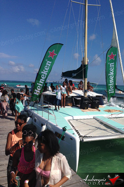 Huge Crowds Flood Ambergris Caye for Easter Weekend