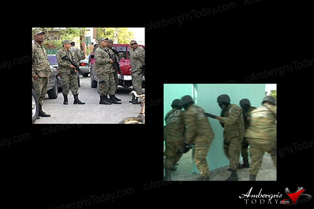 Gang Suppression Unit Back on Ambergris Caye Over Easter Breakv