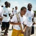 Queen's Baton Relay in Belize