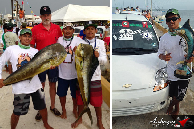San Pedro Teams Top Mahahual Fishing Tournament