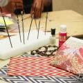 Paper Beads Jewelry Workshop Held for Island Schools