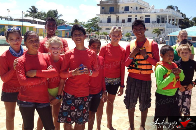San Pedro Junior Sailing Team Sweeps Placencia Regatta