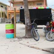 100 Eye-popping Trash Bins Distributed in San Pedro Town