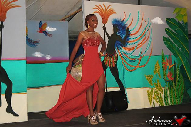 Britany Ysaguirre Crowned Miss Lobster Fest Caye Caulker
