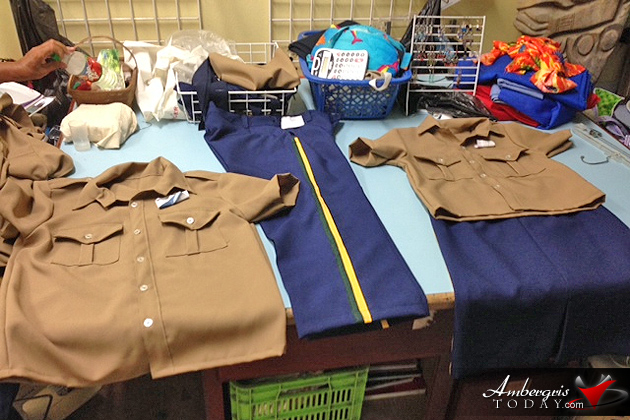 San Pedro Youth Cadet Corps Boasts New Uniforms