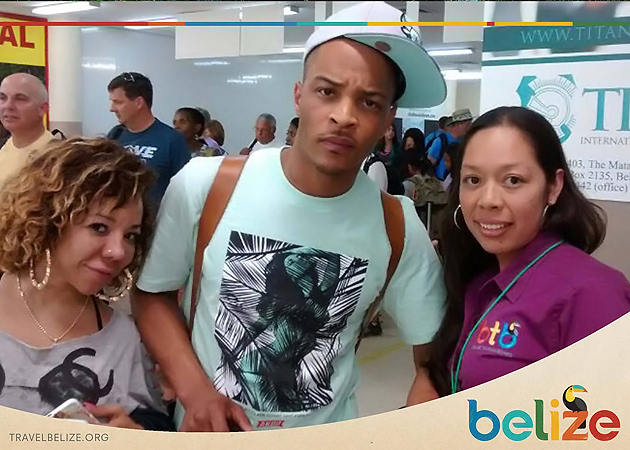 Rapper T.I. and Wife Tiny Spotted in San Pedro, Belize