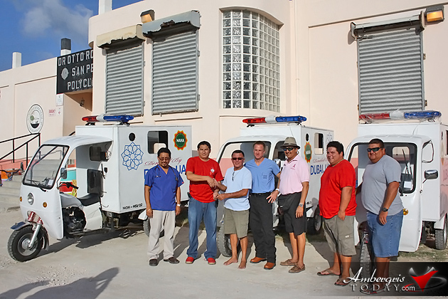 Health Support Vehicles Handed to San Pedro Poly Clinic