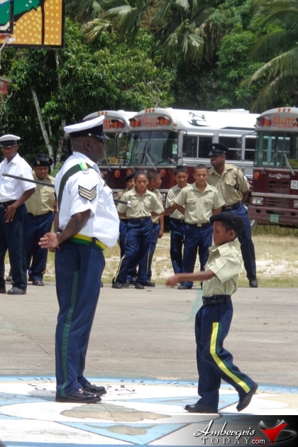 San Pedro Police Youth Cadets Attend National Cadet Corps Summer Camp