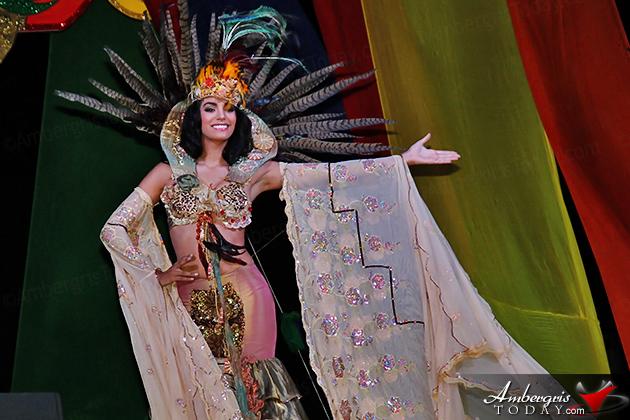 Miss Mexico, Eliza Gomez, Crowned Miss Costa Maya 2014
