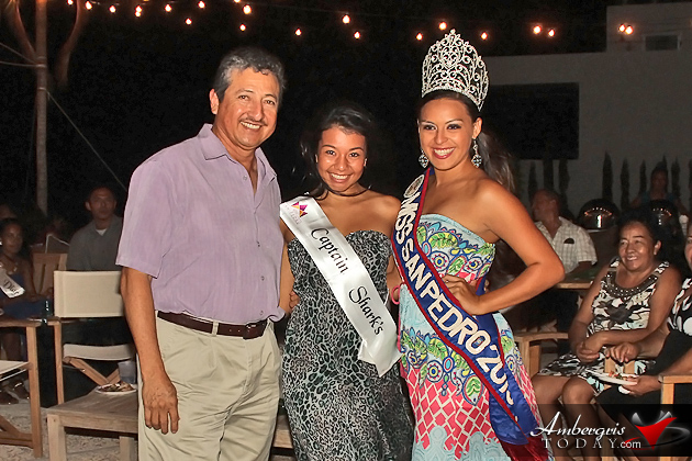 Miss San Pedro Delegates Presented with Official Sash at Evening Social