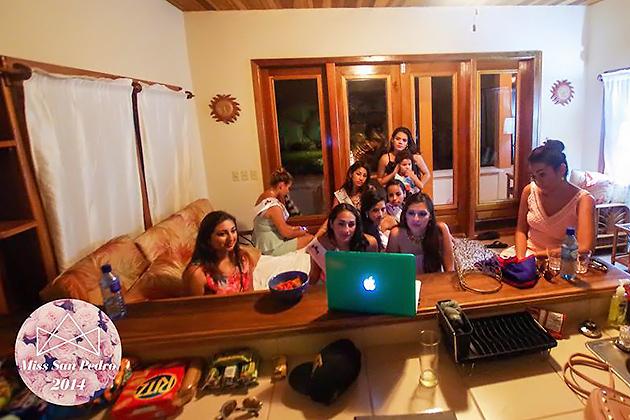 Miss San Pedro Contestants Enjoying Fun Activities Leading to Pageant Night