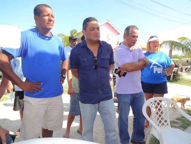 PUP Party Leader Meets with Business Community in San Pedro