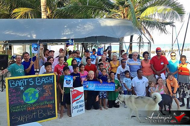 San Pedro Sailors Help SeSan Pedro Sailors Help Set New Guinness World Record for Bart's Basht New Guinness World Record for Bart's Dash