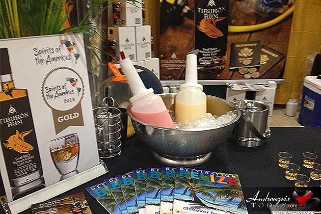 Tiburon Rum of Belize Making Waves Internationally Arrives in Belize