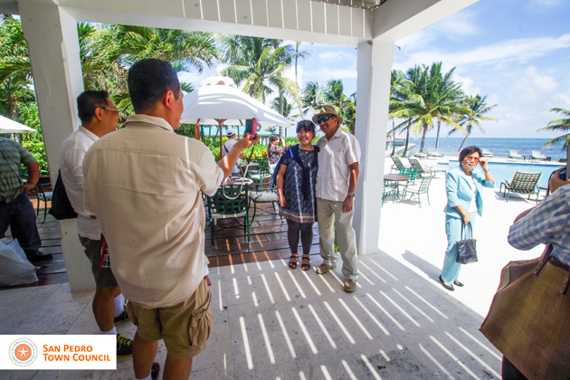 Ambassador of the Republic of China Hosted in San Pedro, Ambergris Caye