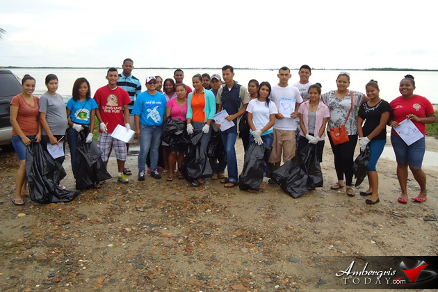 San Pedro Participates in Countrywide Coastal Water Cleanup Day