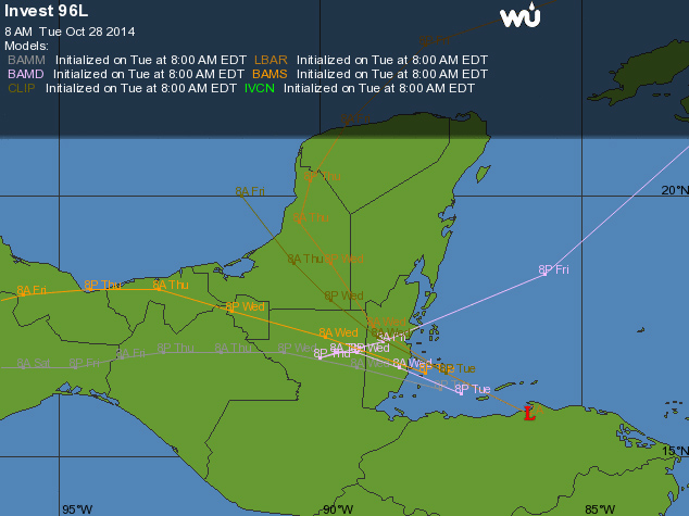 Tropical Storm Hanna Develops over Nicaragua/Honduras