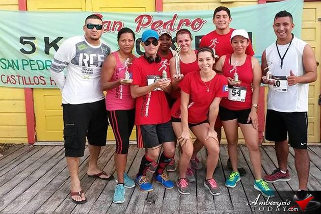 Islanders Participate in San Pedro 5K & 10K Run