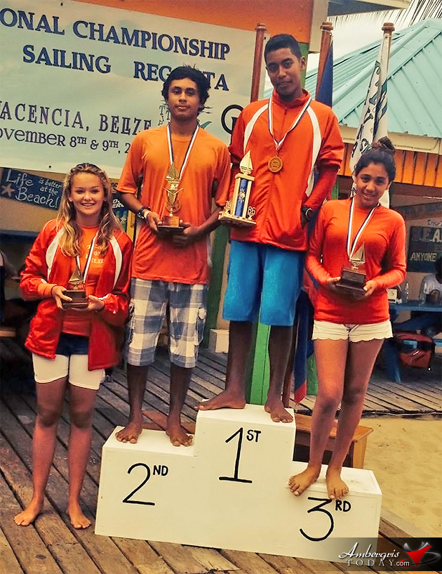 San Pedro Sailing Club Takes Belize National Championship