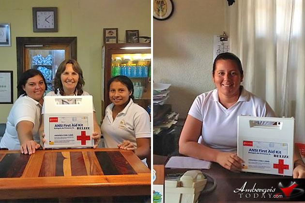 San Pedro Red Cross Revs Up Activity on Island