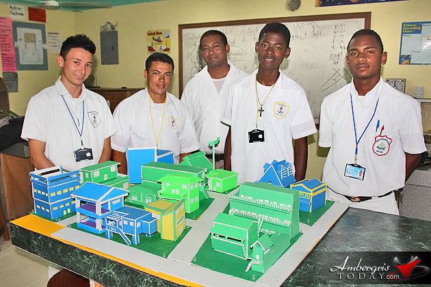 San Pedro High Academics Enter Sagicor Visionary Challenge