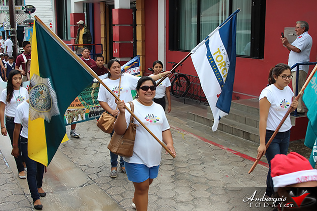 Belize Special Olympics Torch Comes to San Pedro
