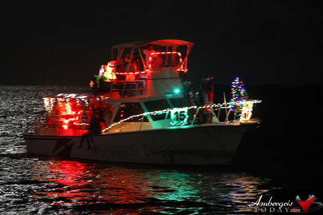 San Pedro Holiday Lighted Boat Parade Shines Bright