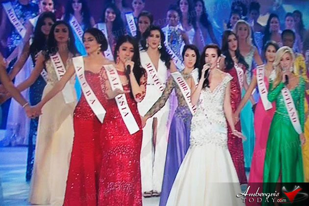 Raquel Badillo Represents at Miss World 2014