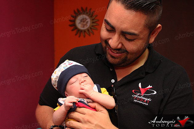 Meet Julian – San Pedro's First Baby of the New Year