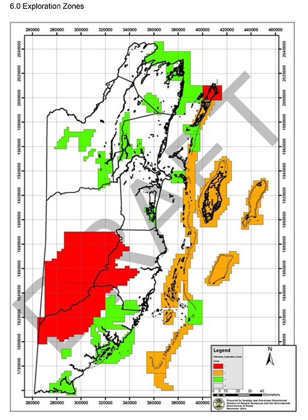 Oceana Belize Calls Petroleum Dept. Proposed Policy on Offshore Drilling Weak on Data