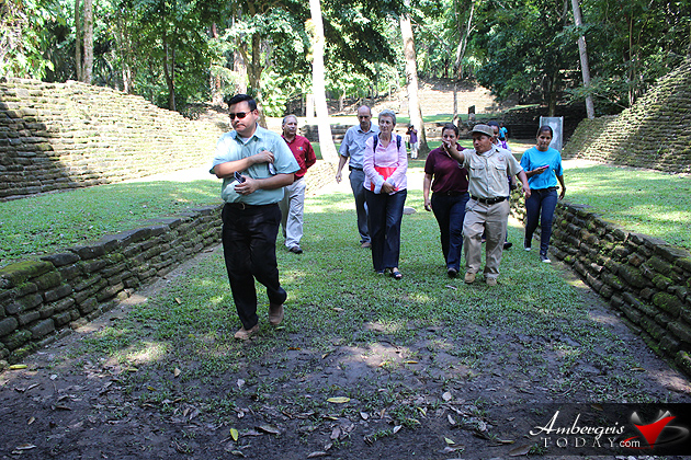 Craft Markets Opened at Three Belize Archaeological Sites