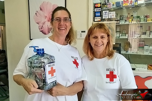 San Pedro Belize Red Cross Host Successful First AID/CPR Training and Blood Drive