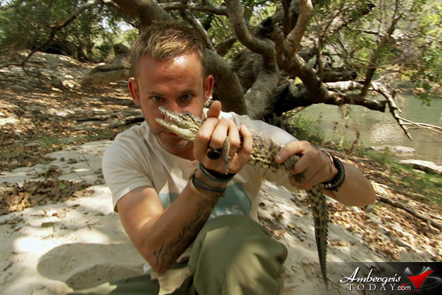 Celebrity Spotting – Lord of the Rings Actor Films in Belize -Dominic Monaghan