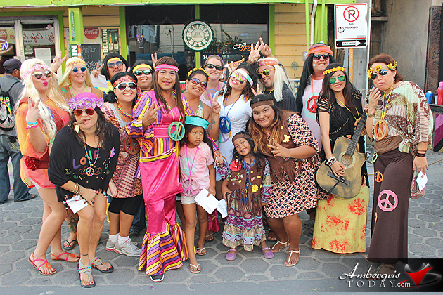 Yes! This is Carnaval in San Pedro, Belize