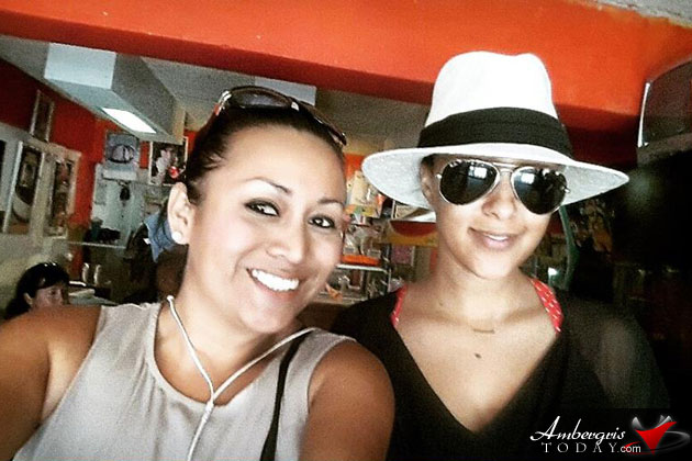 TV Show Host/Actor Tamera Mowry Vacations in San Pedro