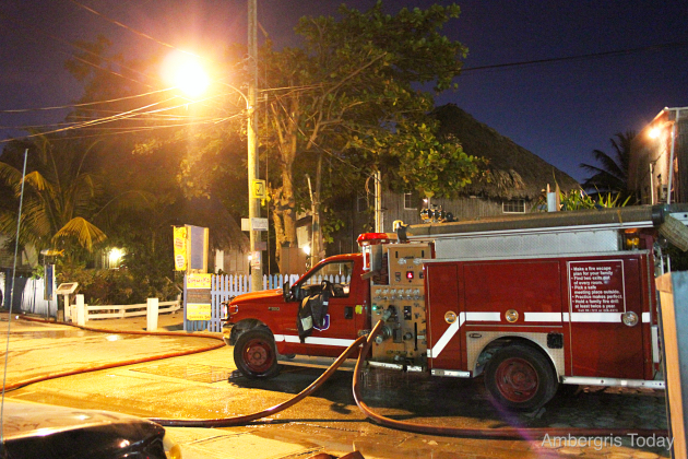 Fire at Exotic Caye Beach Resort Destroys Three Buildings