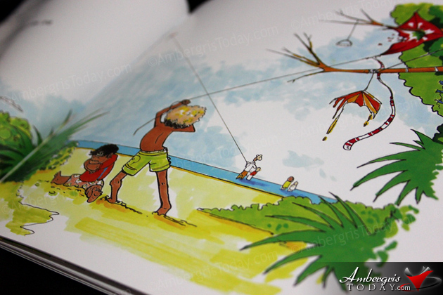 "Caye Caulker Resident Launches ""Caye Boy"" Children's Book"