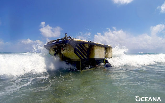 Oceana Confirms Deep Water Submersible Damaged Reef off Ambergris Caye