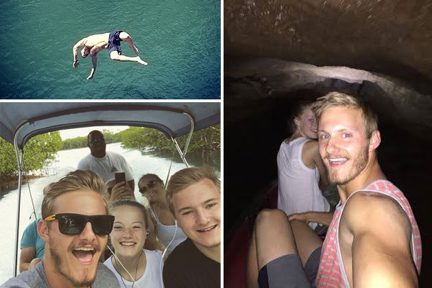 Celebrity Spotting – Hunger Games Actor Alexander Ludwig Vacations in Belize
