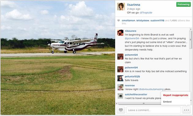 Celebrity Spotting – TV Couple Lisa Rinna & Harry Hamlin Vacation in San Pedro, Belize