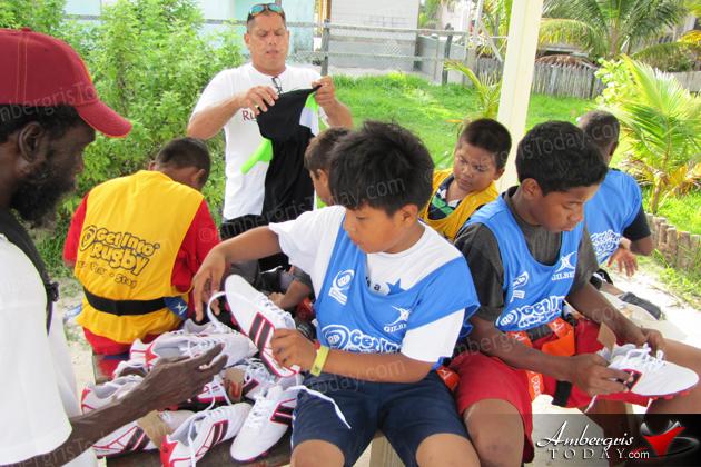 Rugby Belize Promotes Sport in San Pedro