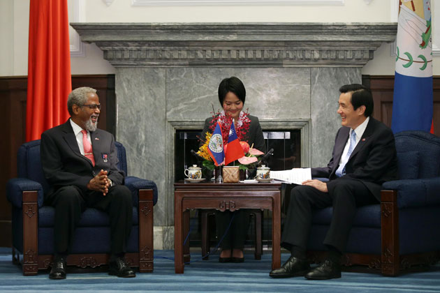 Belize Governor General Launches Chinese-language Edition of Belizean Book