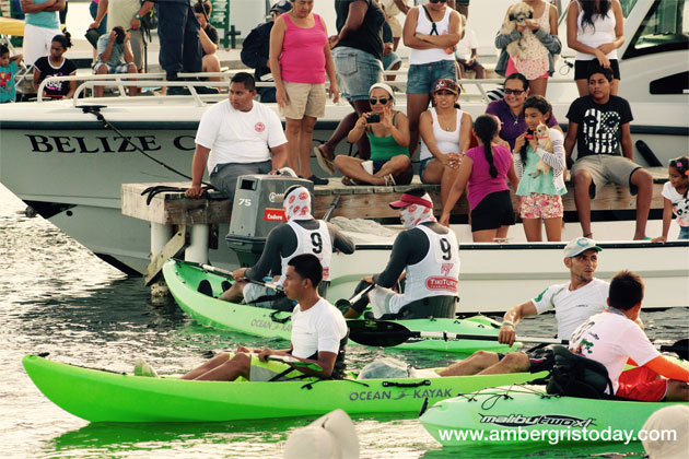 Kayakers Battle at 11th Annual Lagoon Reef Eco Challenge