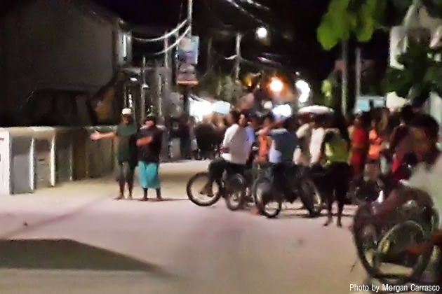 Peace in Caye Caulker Disrupted by Rioting Residence Against Police