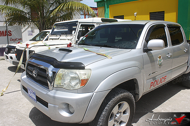 San Pedro Police Department Fortified with Five Vehicles
