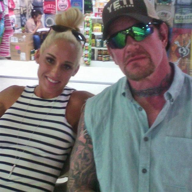 Celebrity Spotting - WWE Wrestler The Undertaker Vacations in San Pedro, Belize