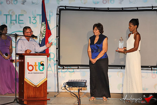 BTB Honors Celi McCorkle as Belize Tourism Pioneer